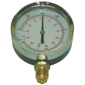 "Manometer 3/8"" 80 mm"