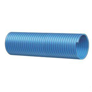 """PVC slang blauw/rood 2 1/2"""" (per meter)"""
